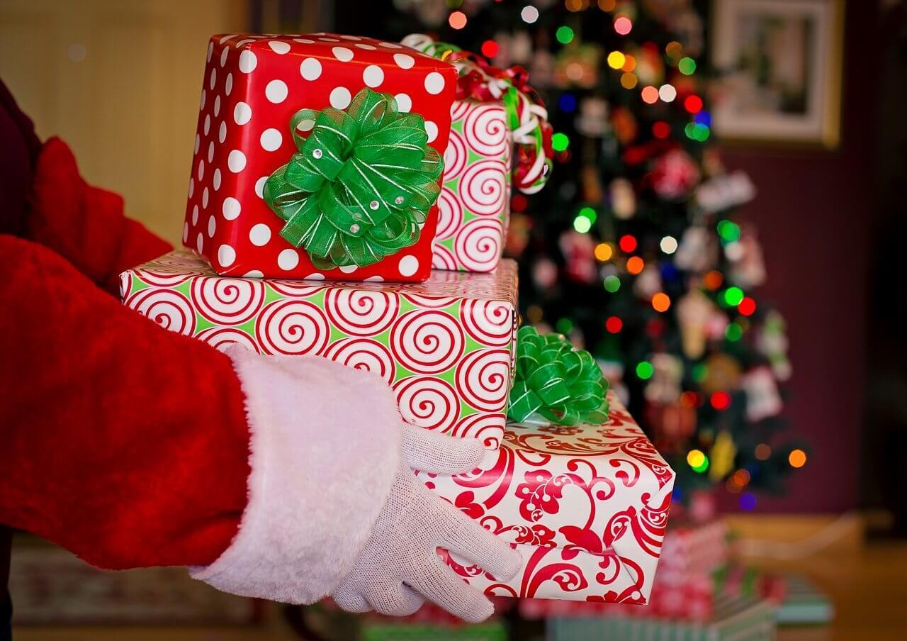prezenty, święta, mikołaj