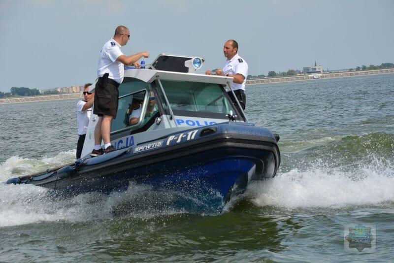 policja nad wodą
