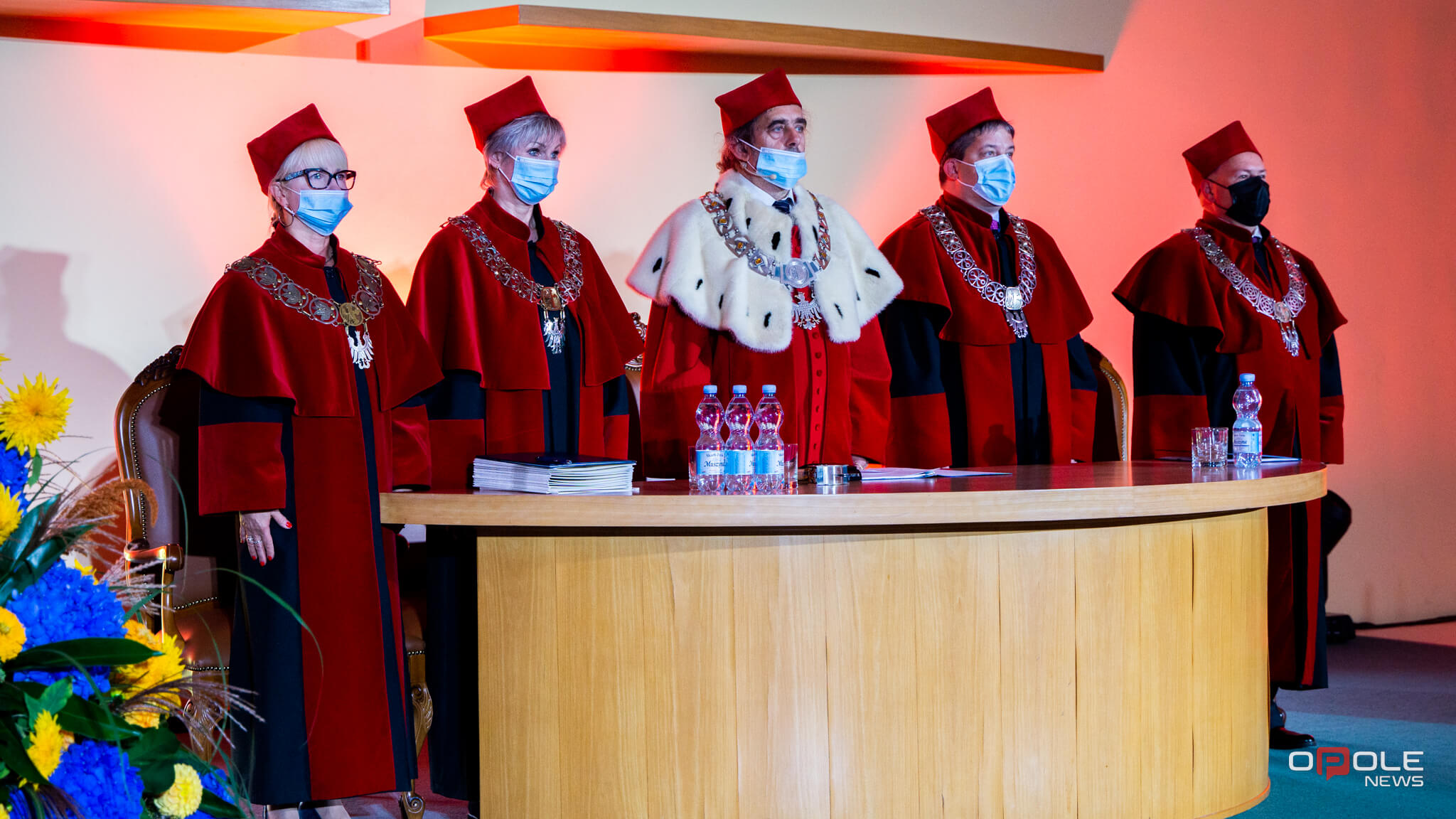 inauguracja akademicka 2021 Uniwersytet Opolski