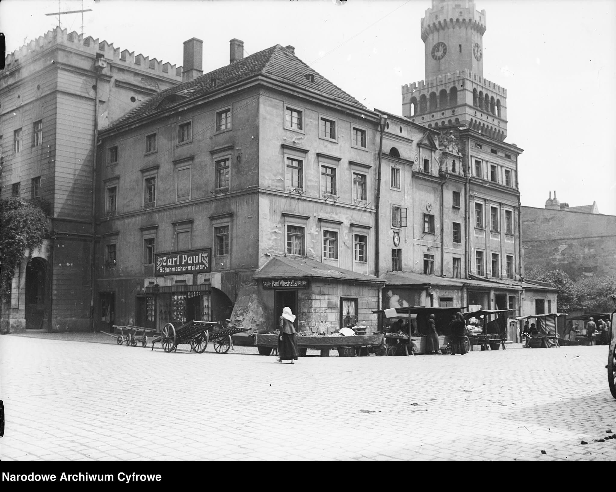 rynek_Opole_przed_wojną_NAC